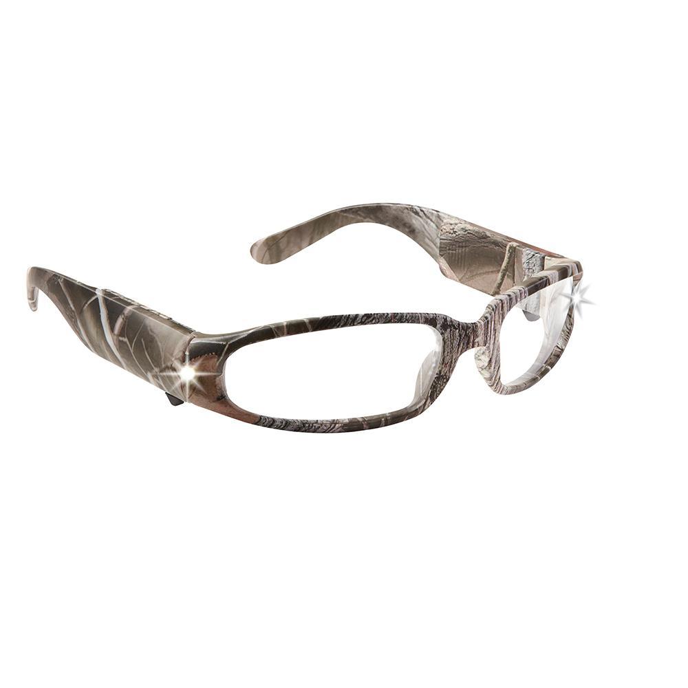 LIGHTSPECS LED Predator Camo Impact Resistant Lens Safety Glasses
