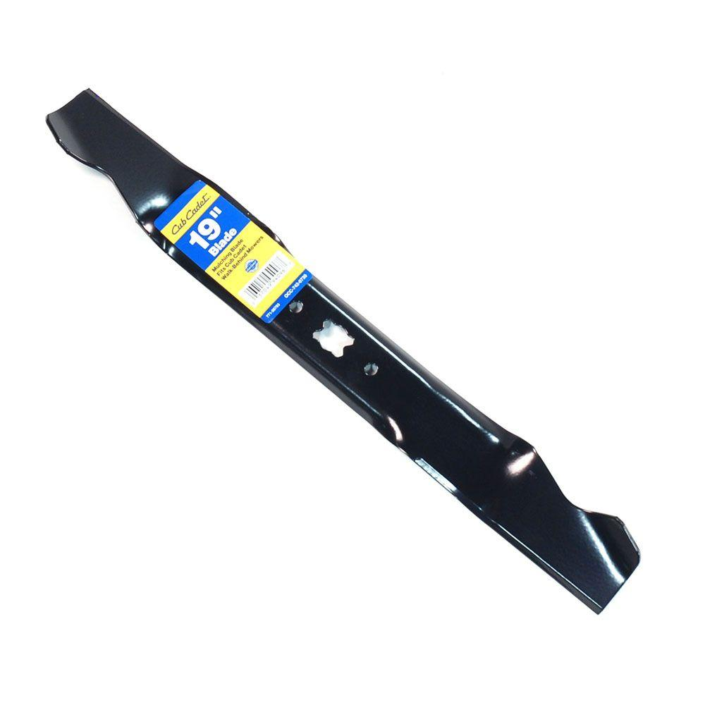 Cub Cadet 19 in. Mulching Mower Blade For Select Cub Cadet Mowers-DISCONTINUED