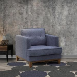 Outstanding Todays Mentality Samantha Gray Fabric Tufted Sofa Chair Ibusinesslaw Wood Chair Design Ideas Ibusinesslaworg