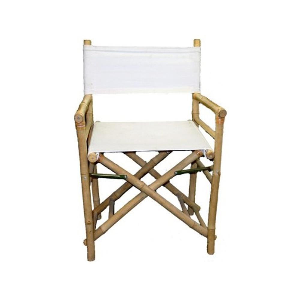 H Bamboo Director Chairs