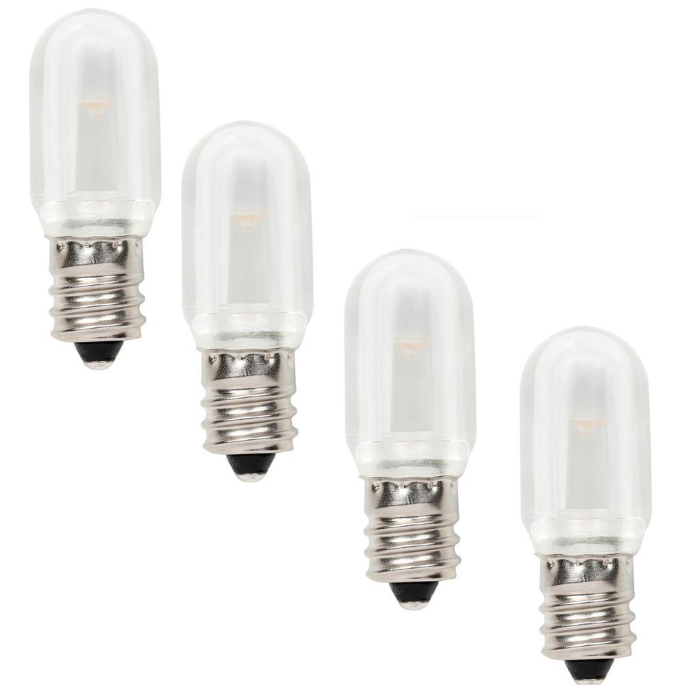 10W Equivalent Soft White T7 LED Light Bulb (4-Pack)