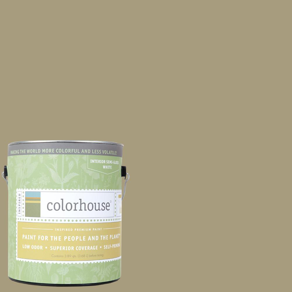 Colorhouse 1 gal. Stone .03 Semi-Gloss Interior Paint