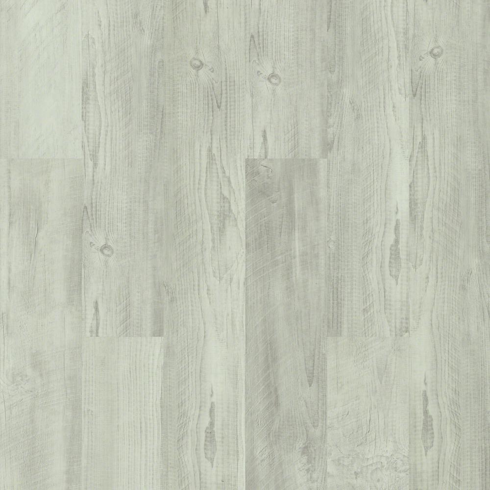 Pinecrest Click 9 in. x 59 in. Dove Resilient Vinyl Plank Flooring (21.79 sq. ft. / case)