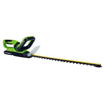 20 in. 20-Volt Lithium-Ion Cordless String Trimmer 2 Ah Battery and Charger Included