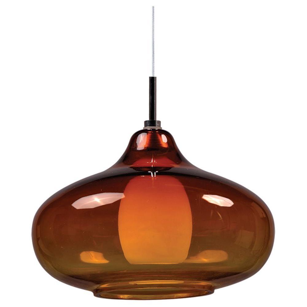 Filament Design Coit 1-Light Polished Chrome Xenon Ceiling Pendant