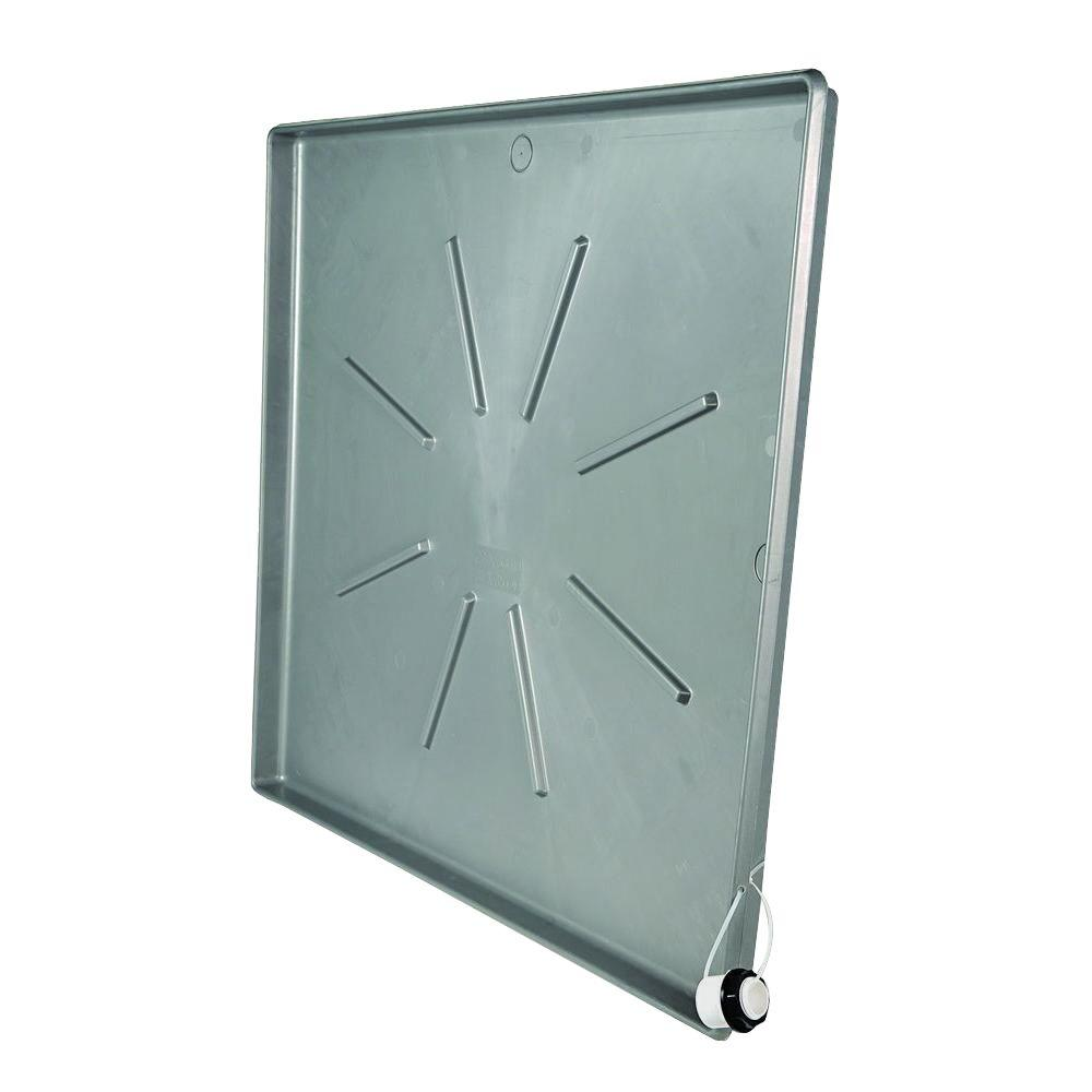 Camco Washing Machine Drain Pan With Pvc Fitting 20788 The Home Depot