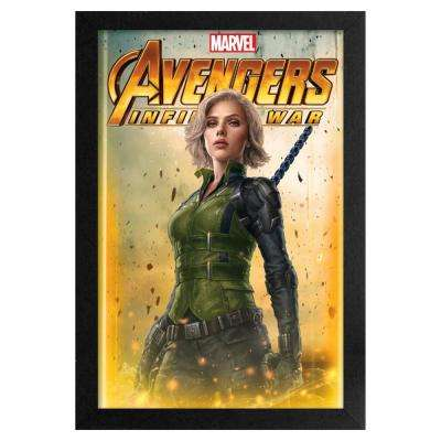 Avengers- Infinity War - Black Widow 11x17 Framed Print