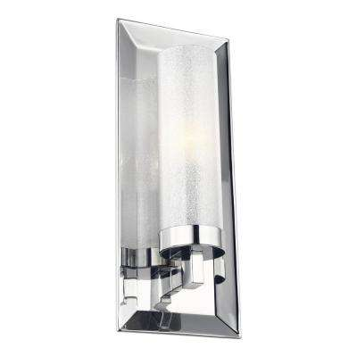 Pippin 1-Light Chrome Sconce