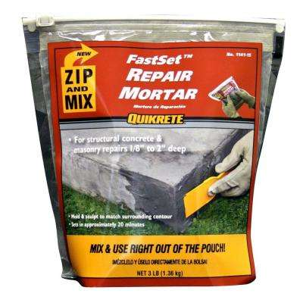 3 lb. Zip and Mix Repair Mortar