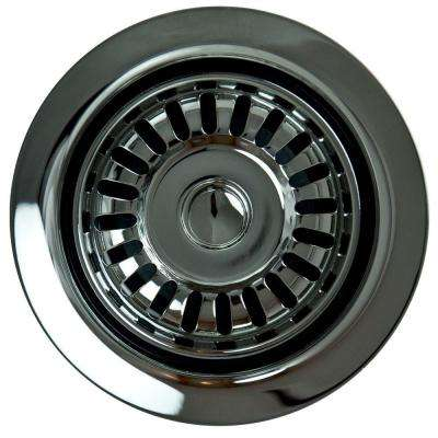 Garbage Disposal Stopper/Strainer in Polished Chrome