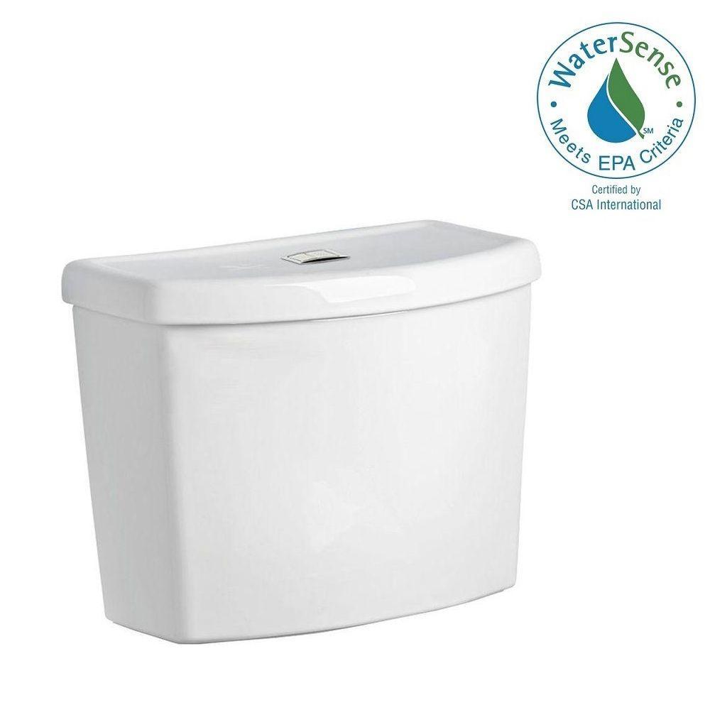 Studio Dual Flush 1.1/1.6 GPF Toilet Tank Only in White