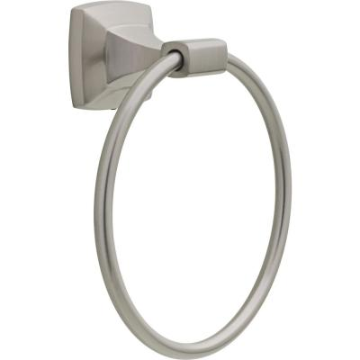 Portwood Towel Ring in SpotShield Brushed Nickel
