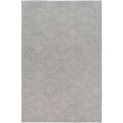 Apolonija Medium Gray 5 ft. x 7 ft. 6 in. Area Rug