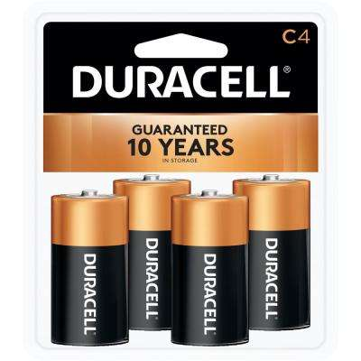 Coppertop C Battery (4-Pack)