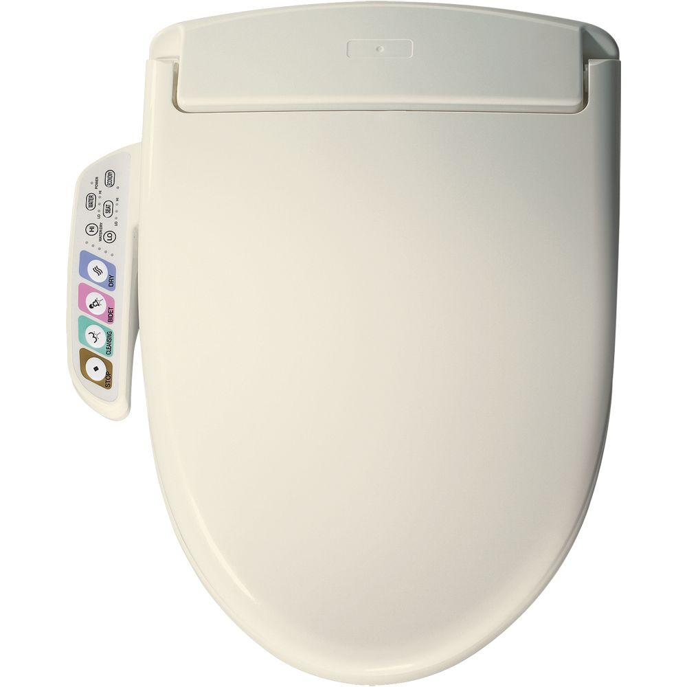 Church Elongated Closed Front Toilet Seat in Biscuit-DISCONTINUED