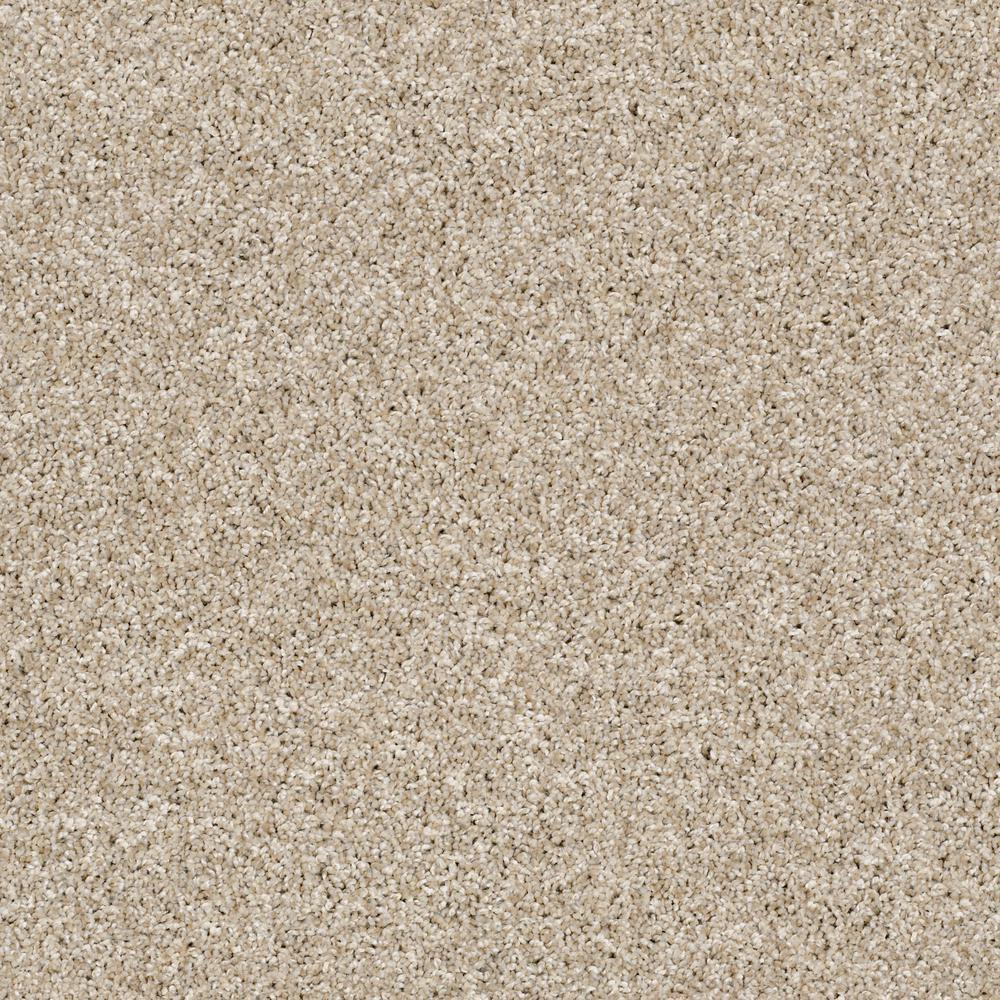 Color Soft Beige Texture 12 ft. Carpet