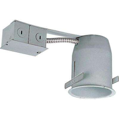 6 in. White Compact Fluorescent New Construction Recessed Housing- Air Tight IC