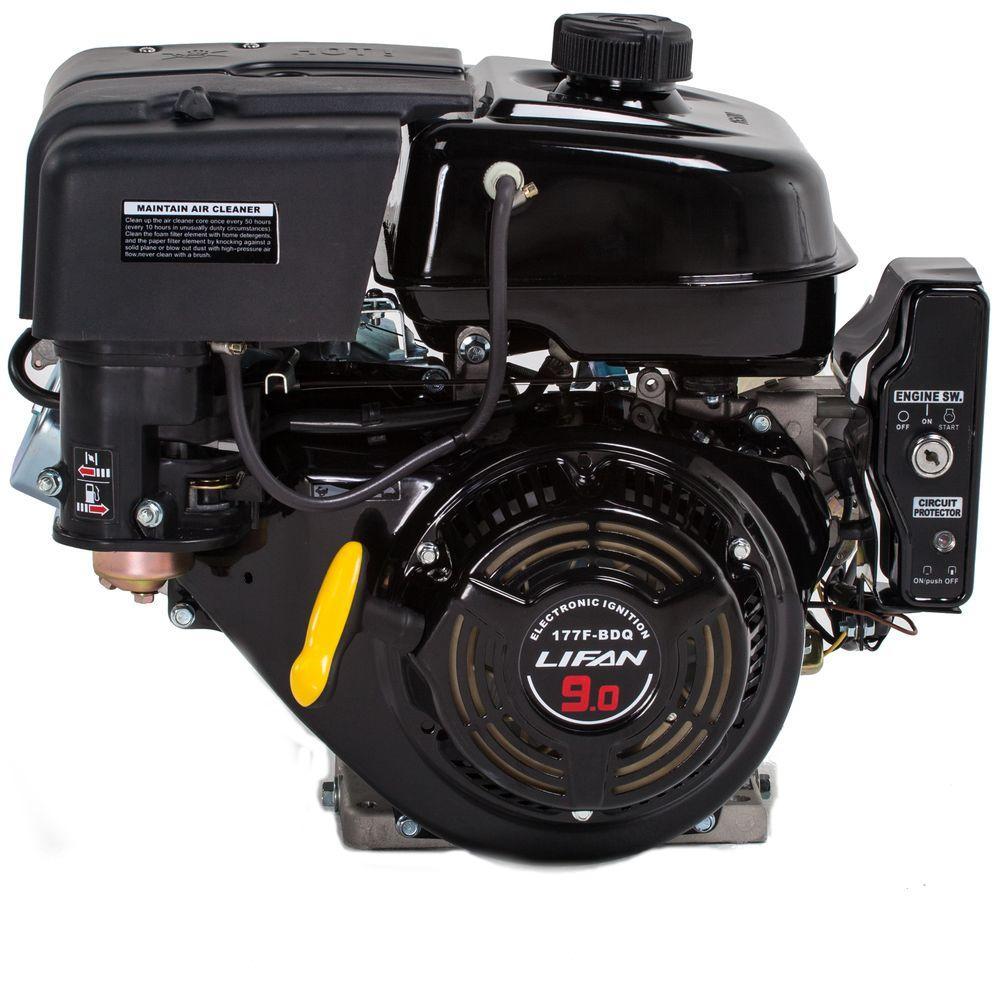 Lifan 1 In  9 Hp 270cc Ohv Electric Start Horizontal