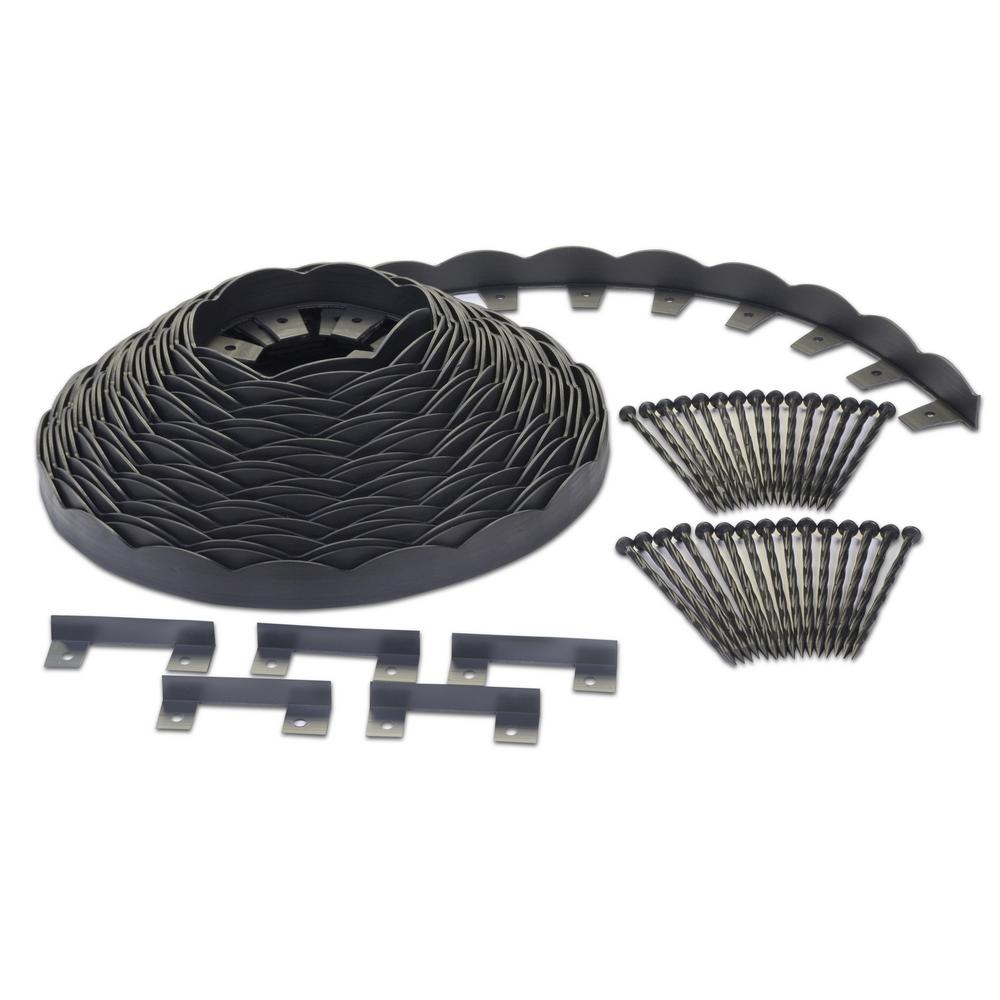 ProFlex No-Dig 100 ft. Scallop Top Edging Kit