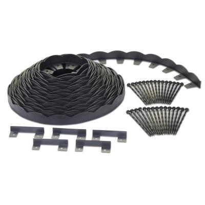 No-Dig 100 ft. Scallop Top Edging Kit