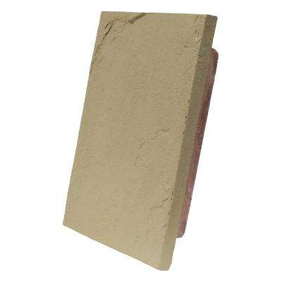 Sandstone Buff 10 in. x 13 in. Faux Polyurethane Stone Large Mounting Block