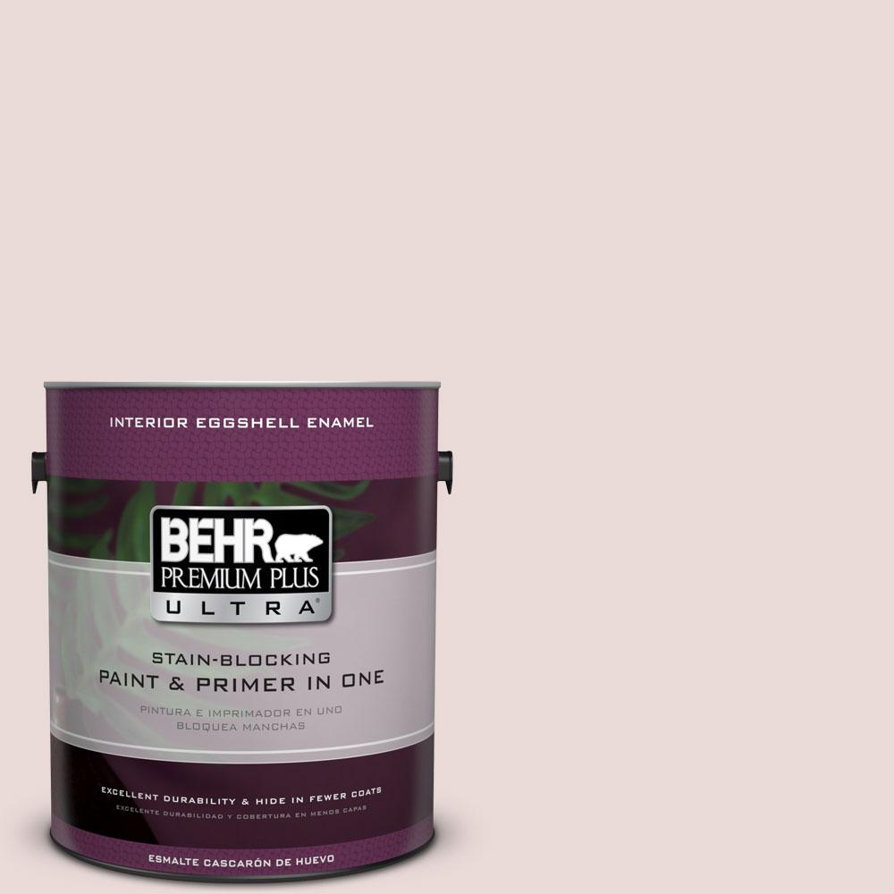 BEHR Premium Plus Ultra 1-Gal. #PPU17-7 Vienna Lace Eggshell Enamel Interior Paint