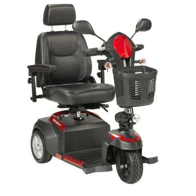 Ventura Power Mobility Scooter 3-Wheel with 18 in. Captains Seat