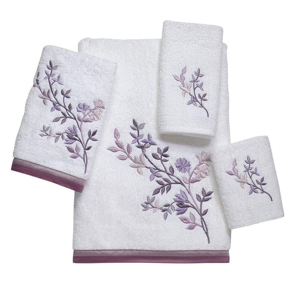 Premier 3-Piece Geometric Bath Towel Set