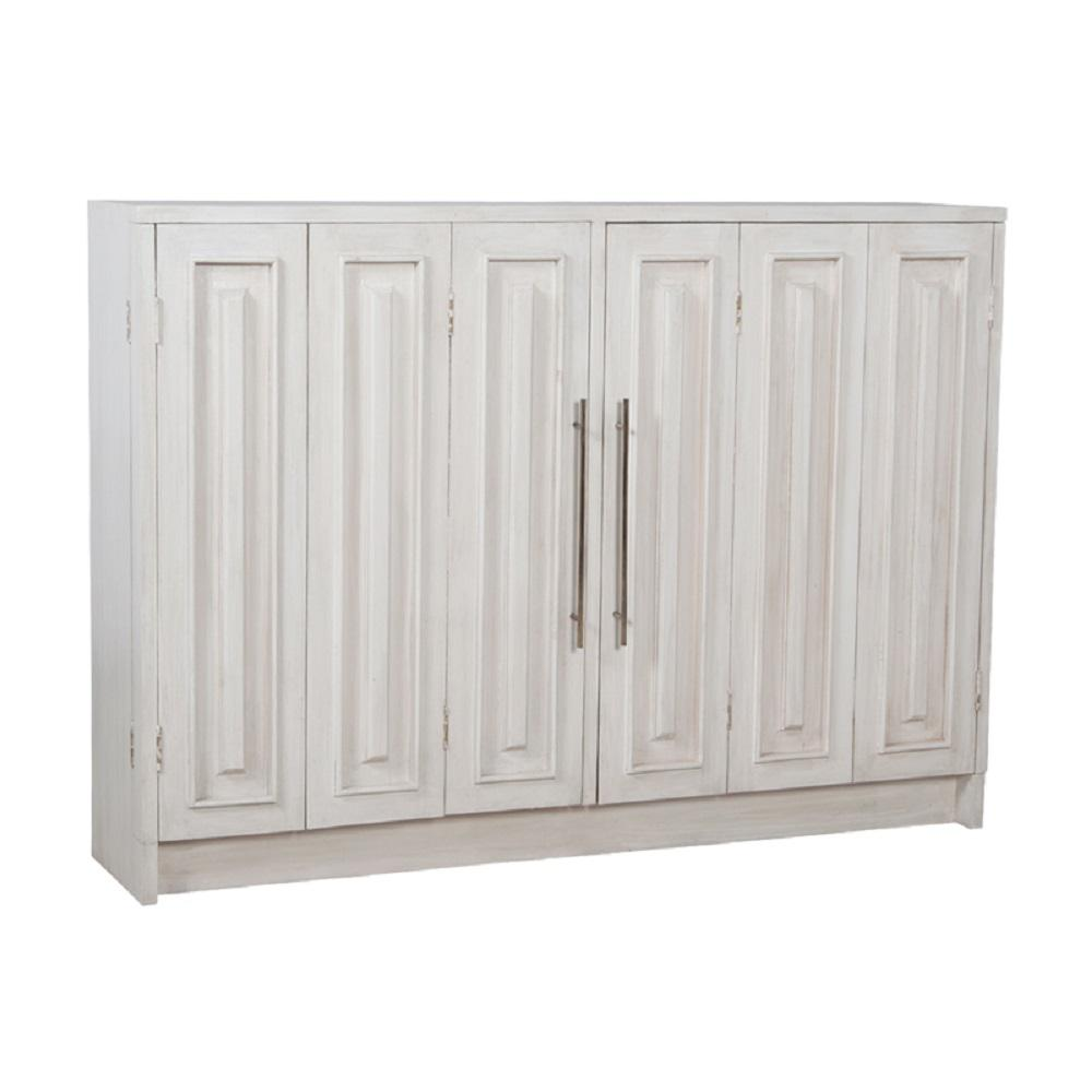 Manor White Wash Buffet Doors