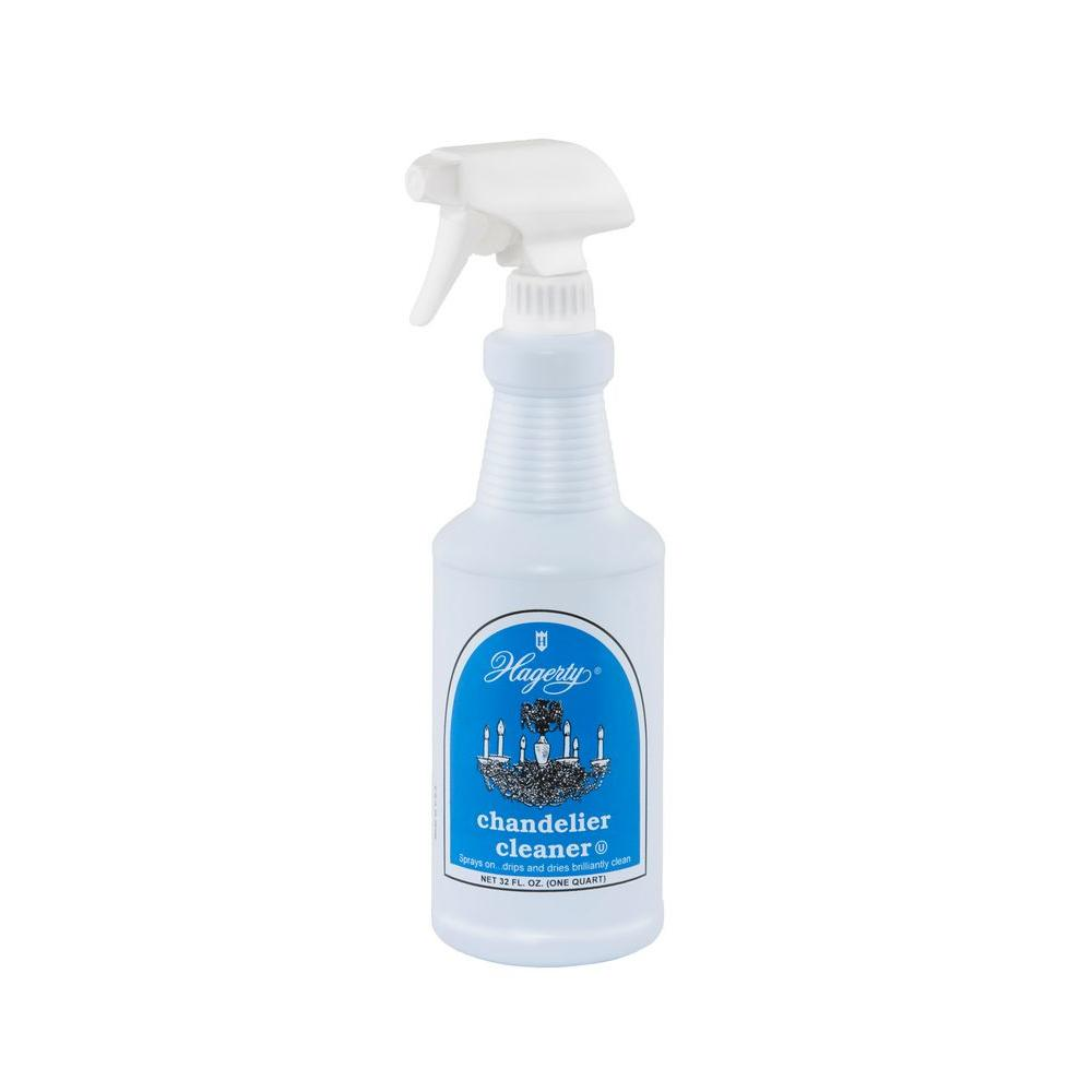 Hagerty 32 fl oz chandelier cleaner 91320 the home depot chandelier cleaner aloadofball Image collections