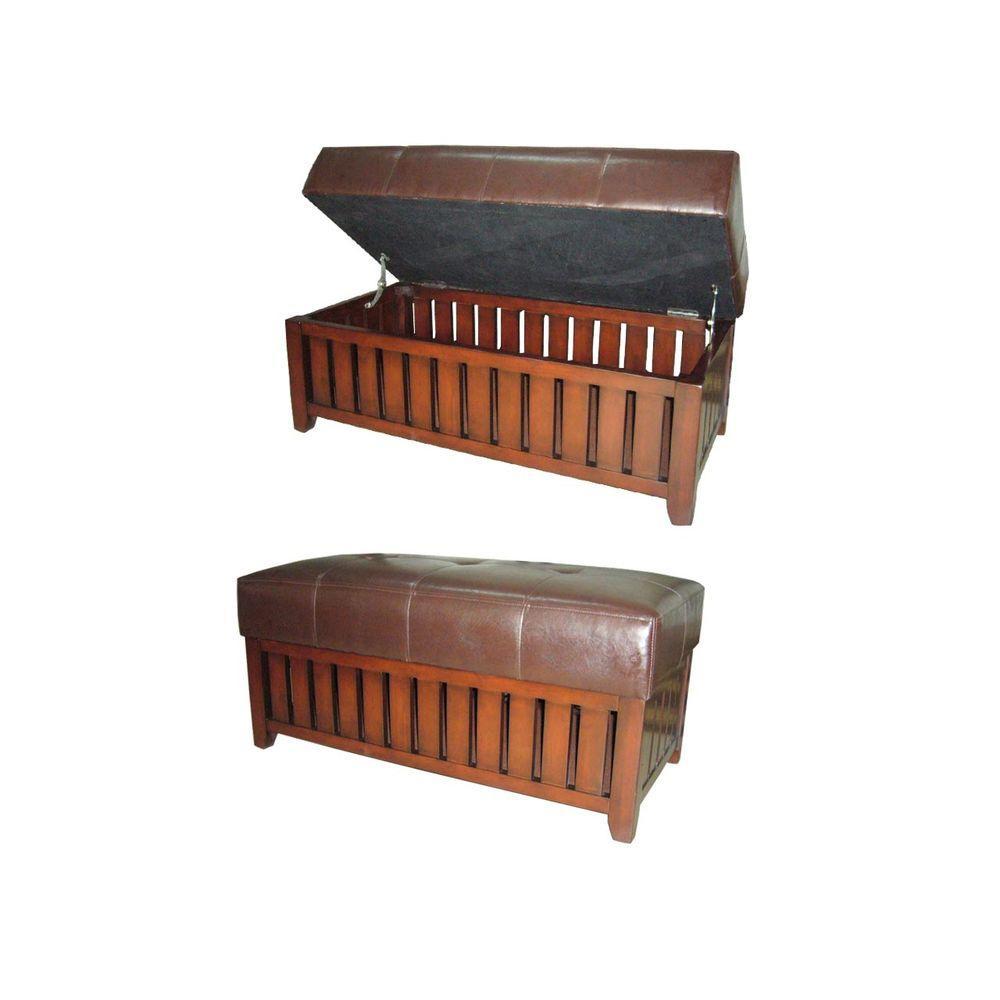 ORE International HB Brown Bench