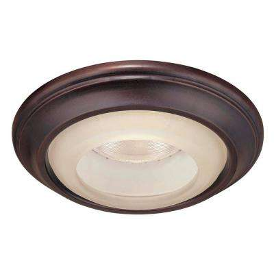 1730 Series 6 in. Lathan Bronze Recessed Can Trim