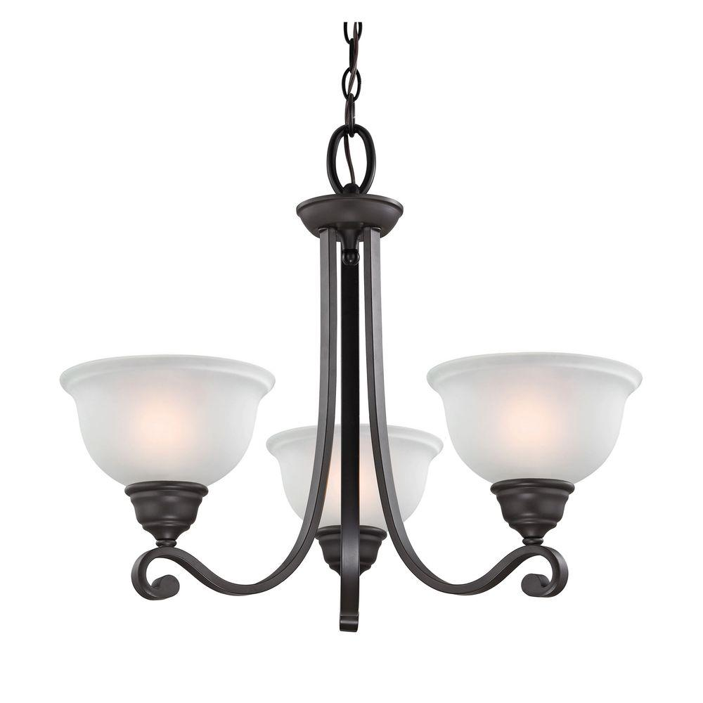 titan lighting hamilton 3 light oil rubbed bronze chandelier tn