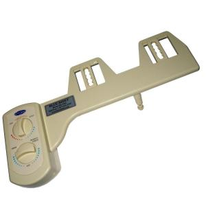 Blue Bidet Non-Electric Hot and Cold Water Attachable Bidet System in Beige by Blue Bidet