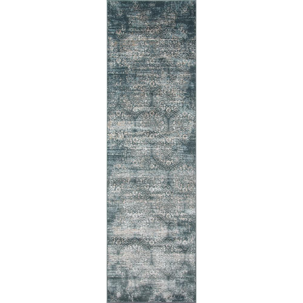 Juliet Green 2 Ft. X 8 Ft. Indoor Runner Rug