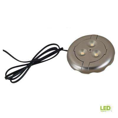 Ambiance 12-Volt Tinted Aluminum LED Disk Light (2700K)