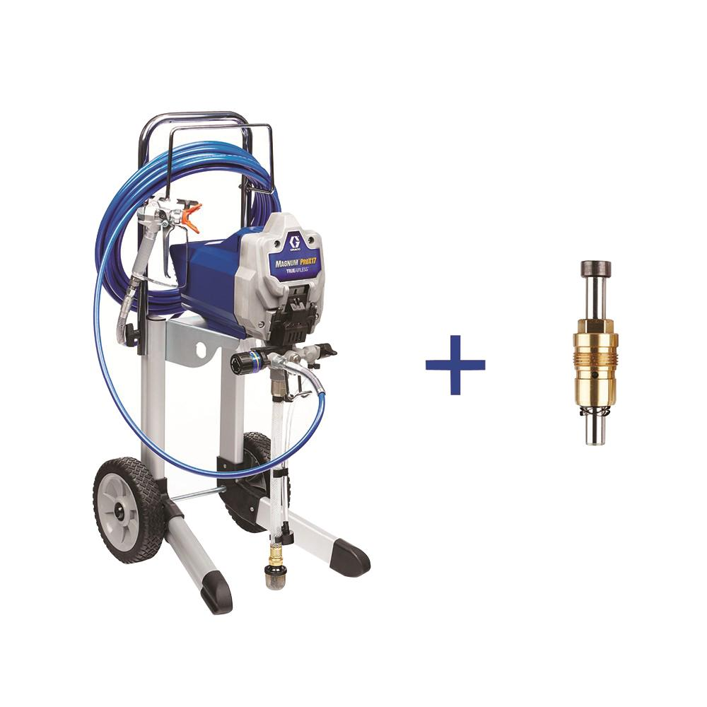 Graco Prox17 Cart Airless Paint Sprayer With Proxchange Pump