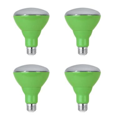 65-Watt Equivalent BR30 Medium E26 Base Non-Dimmable Indoor and Outdoor Full Spectrum LED Plant Grow Light Bulb (4-Pack)