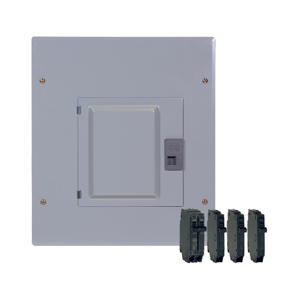 100 Amp 12-Space 22-Circuit Main Breaker Indoor Load Center Contractor Kit