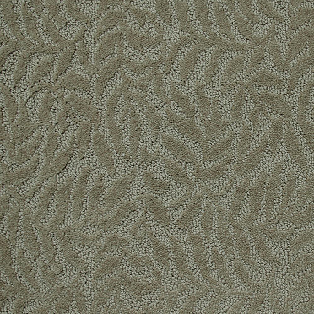 Carpet Sample - Fairlawn - Color Malachite Texture 8 in. x 8 in.