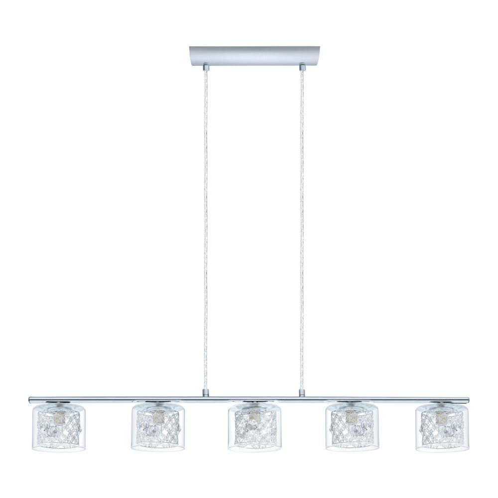 Pianella 5-Light Chrome Ceiling Pendant