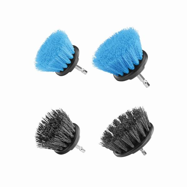 Soft Bristle and Hard Bristle Brush Cleaning Kit (4-Piece)