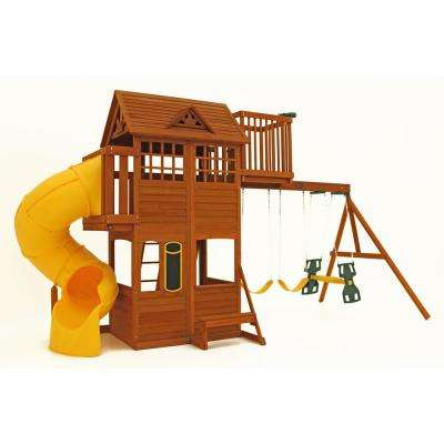 Abbeydale Clubhouse Playset/Swing Set