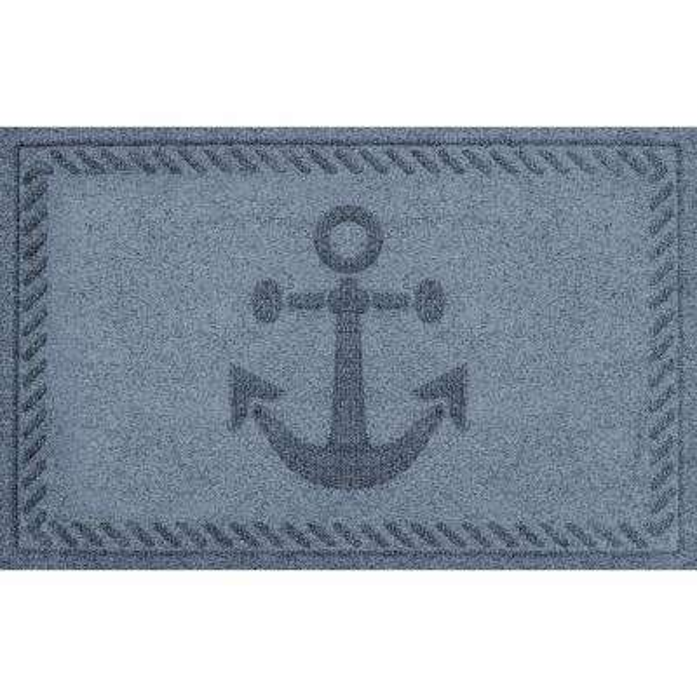 Bluestone 24 in. x 36 in. Ships Anchor Polypropylene Door Mat