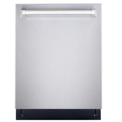 24 in. Top Control Built-In Tall Tub Dishwasher in Fingerprint Resistant Stainless Steel, 45 dBA