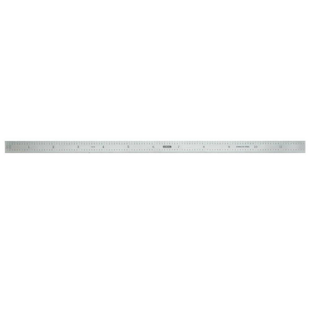 12 in. Flex Stainless Steel Ruler