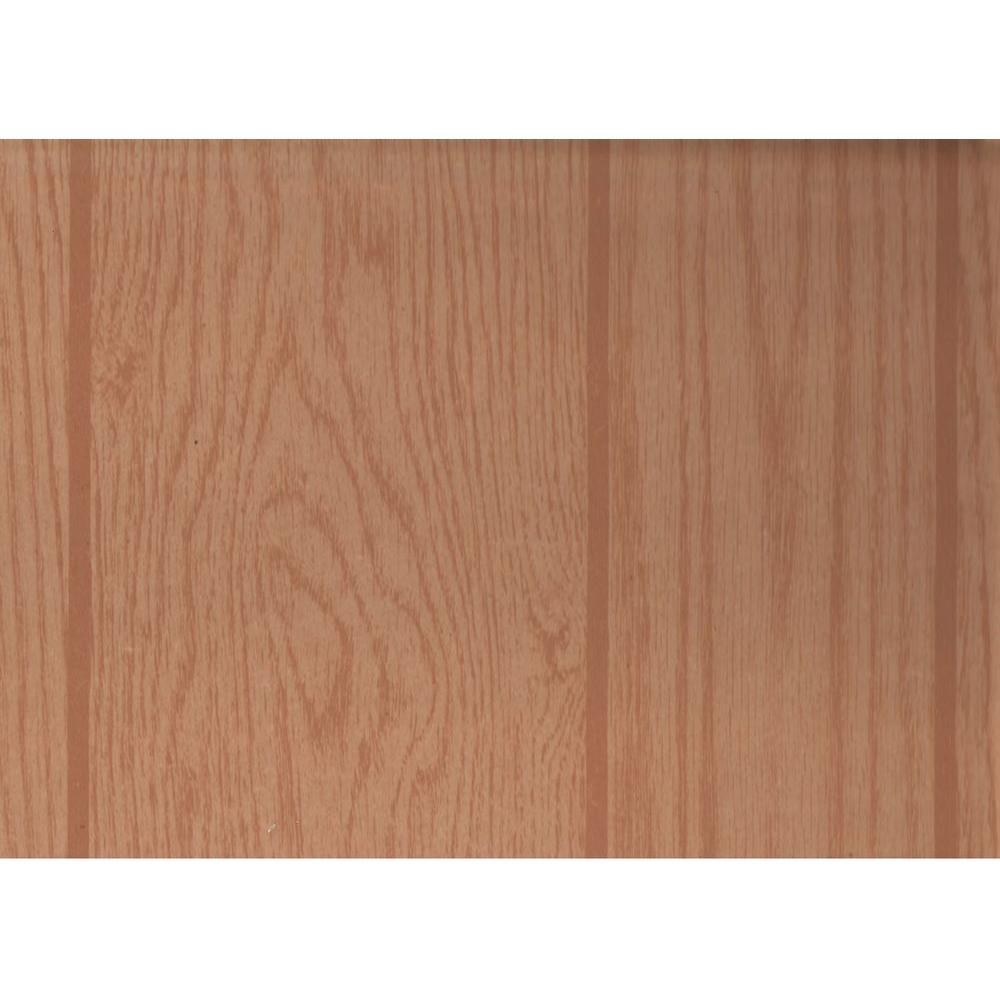 null 32 sq. ft. MDF Spartan Oak Wall Paneling 48 in. x 96 in. x 0.118 in.
