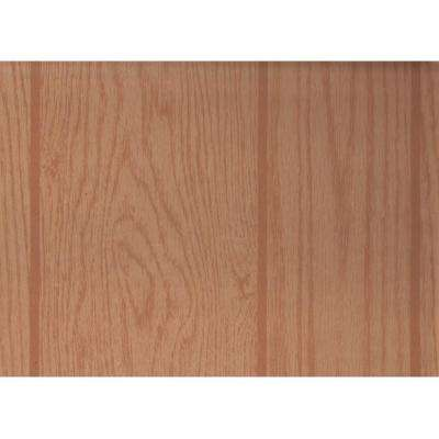 0.125 in. x 48 in. x 96 in. 32 sq. ft. Oak MDF Spartan Wall Paneling