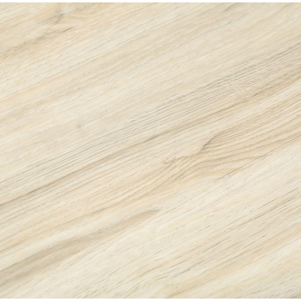 TrafficMASTER Alpine Elm 6 in. W x 36 in. L Luxury Vinyl Plank Flooring (24 sq. ft. / case)