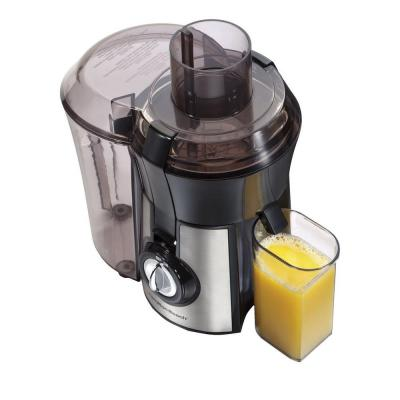 Big Mouth Pro 1 qt. Black and Stainless Steel Juice Extractor